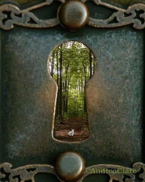 doorway green