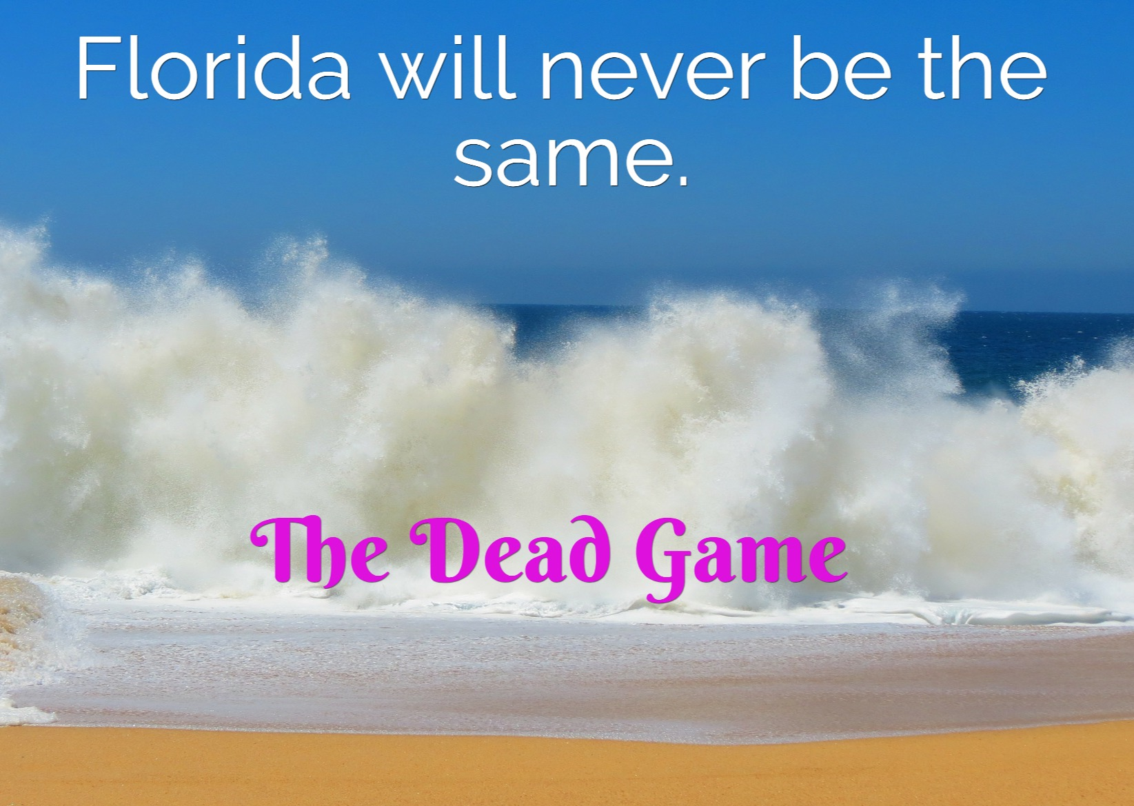 Florida never be same