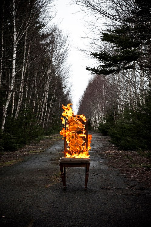 Burning Chair